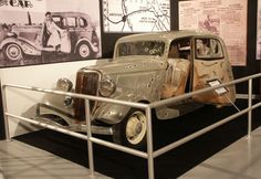 Bonnie and Clyde movie car