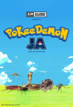 While the world is busy in running after Pokemon Go, AIB created some Indian Pokemon we all desire to catch.