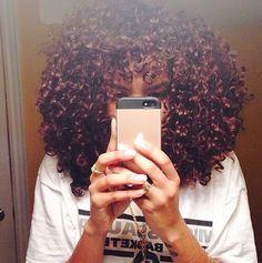 Full beautiful curls
