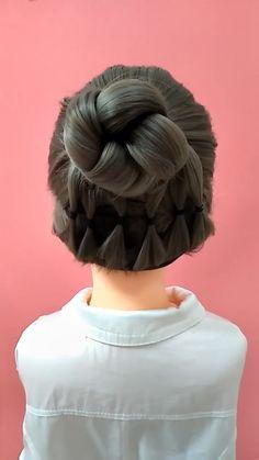 Hair Tutorials For Medium Hair, Medium Hair Styles, Curly Hair Styles, Hair Tips Video, Hair Videos, Hairstyles Videos, Easy Hairstyles For Long Hair, Braided Hairstyles, Hair Upstyles