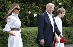 On Father's Day weekend, Trump makes his inaugural visit to Camp David - The Washington Post