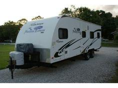 Used 2011 #Coachmen Freedom express 260 BL-LTZ #Toy_hauler in Pierceton @ UsedRvsUsa.Com
