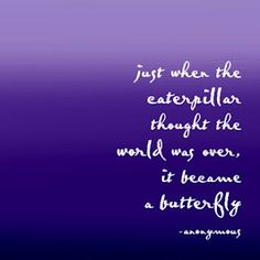 One of my favourite quotes and reason a butterfly is part of my tattoos  destn8nmotiv8n