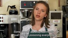 Young scarlet johanson on humanity
