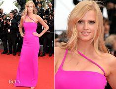 le sigh.  Lara Stone In Calvin Klein Collection – 'The Search' Cannes Film Festival Premiere