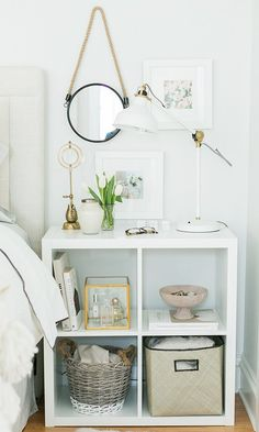 Source: theeverygirl.com {link: http://theeverygirl.com/3-ways-to-style-and-use-ikeas-kallax-expedit-shelf}