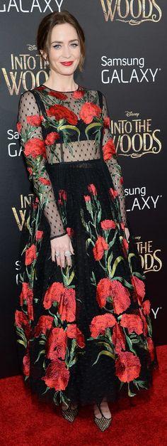 Emily Blunt in Dolce & Gabbana Spring '15