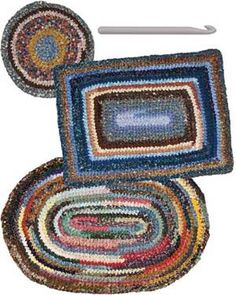 Get Hooked Patternplus Crochet Rug