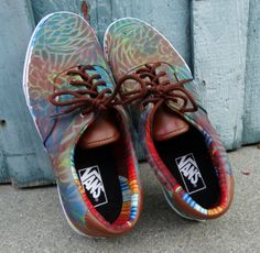 Custom Spray Painted Vans