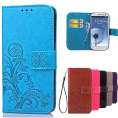 Luxury Case for Samsung Galaxy S3 Flip Wallet Leather Cover For Samsung S3 Case Galaxy I9300 Neo i9301 Duos i9300i Phone Case Price: USD 3.99 | UnitedStates