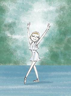 バレエイラスト Illustration, Drawings, Coloring Books, Line Drawing, Ballet Art, Anime, Ballerina Illustration, Art Tutorials, Watercolour Inspiration