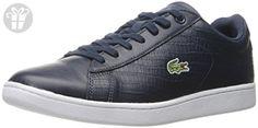 Lacoste Men's Carnaby Evo G316 5 Spm Fashion Sneaker, Navy/Navy, 7 M US (*Amazon Partner-Link)