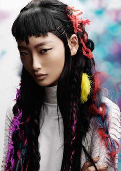 Причёски и стрижки: фото из коллекции Street fusion