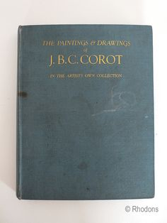 1929 Publication. Hardcover with blue cloth boards and gilt titles. 71 pages of plates (monochrome with 8 tipped-in and in colour with tissue guards) followed by a 94 page catalogue. Good reference copy.