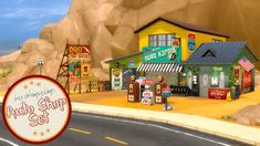 Auto Shop and Gas Station Set to easily find these items in game, type OAS (Ohmysims Auto Shop), or ohmysims or Auto. New meshes by me • Auto shop sign sticker pack • Billboard Frame •  Garage Door...