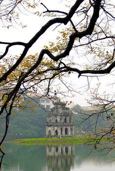 Hoan Kiem Lake - Hanoi - Vietnam
