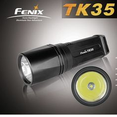 Fenix TK35 http://www.flashlight-shop.com/fenix-tk35-cree-xm-l-820-lumen-led-flashlight.html is an 820 lumens flashlight utilizing the latest Cree XM-L LED. It has four brightness levels, two different flashing functions and a signaling mode.