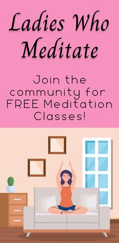 Learn how to relieve stress in just 10 minutes from the free meditation classes in Ladies Who Meditate. This meditation group is great for busy women even if they are beginners.