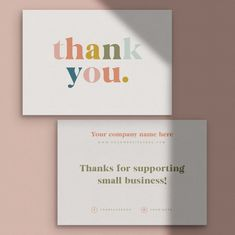Packaging Ideas Discover Thank you for your order cards Business Stationery Business card thank you card business branding complementary slip note card Thank you for your order cards Business Stationery Business Business Branding, Business Card Design, Stationery Business, Stationery Brands, Stationery Design, Thank You Card Design, Thank You Card Template, Birthday Card Dad, Business Thank You Cards