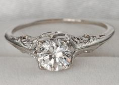 Vintage Diamond Engagment Ring