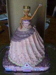 Buttercream princess doll cake http://th07.deviantart.net/fs50/PRE/i/2009/328/9/2/Barbie_Doll_Cake_by_RosenEmbers.jpg