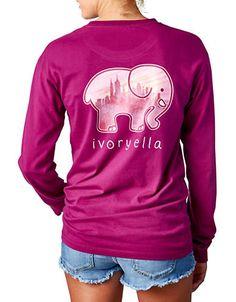 <ul> <li>Good Clothes for a Good Cause: with every shirt you purchase Ivory Ella and Lord & Taylor give a portion of profits to Save the Elephants</li>  <li>Crewneck</li>  <li>Long sleeves with banded cuff</li>  <li>Patch chest pocket with elephant graphic</li>  <li>Pigment dyed</li>  <li>Large elephant graphic at center back</li>  <li>Cotton</li>  <li>Hand wash</li>  <li>Imported</li>  </ul>