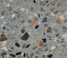 polish concrete wih colorful glass - Pesquisa Google