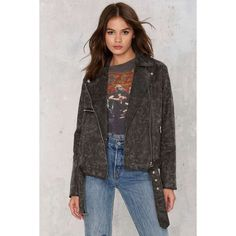 Hello Moto Vegan Leather Jacket ($118) ❤ liked on Polyvore featuring outerwear, jackets, black, vegan leather motorcycle jacket, fake leather moto jacket, synthetic leather jacket, vegan motorcycle jacket and fake leather jacket