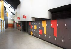 Interloc :: Timber Laminate Lockers