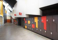 Interloc :: Timber Laminate Lockers