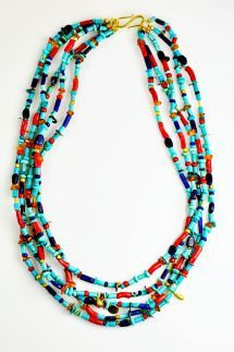 Greig Porter Multi Stone 5 Strand Necklace » Santa Fe Dry Goods | Clothing and accessories from designers including Issey Miyake, Rundholz, ...