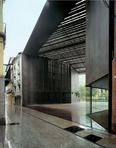 RCR Arquitects - La Lire public passageway, Ripoll_02