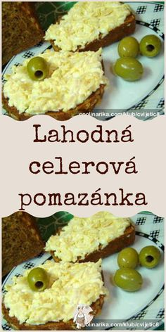 Czech Recipes, Food Art, Diet Recipes, Zucchini, Food And Drink, Easy Meals, Veggies, Menu, Lunch