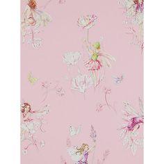 Buy Jane Churchill Meadow Flower Fairies Wallpaper Online at johnlewis.com