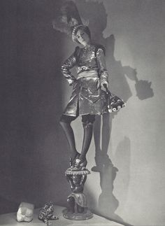 Horst P. Horst- 1936, Elsa Schiaparelli as a blackamoor