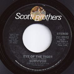 Eye Of The Tiger / Survivor / on Billboard 1982 45 Records, Vinyl Records, New Survivor, Song Words, Fun Music, Record Art, Music Charts, Oldies But Goodies, Best Day Ever