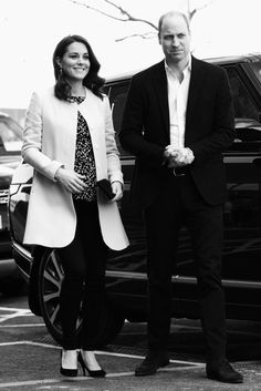 Prince William and the Duchess Kate of Cambridge....
