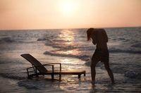 2016 All Weather junto a la piscina tomando el sol al aire libre usado ajustable…