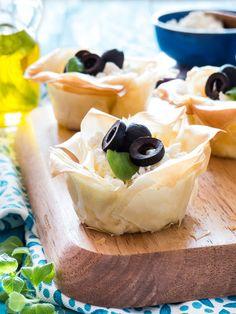 Griechische Feta Cheesecake Muffins im Filo Teig | Meine Küchenschlacht