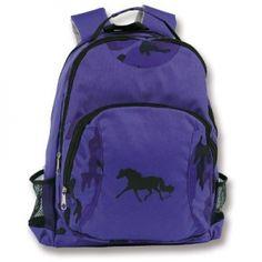 Kid s Purple Pony Camo Bookbags from AWST 1e406fc12aae6
