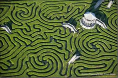 Longleat Maze @ Wiltshire countryside, UK