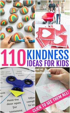 110 Random Acts of Kindness for Kids - The ULTIMATE List! - The ULTIMATE list of 110 random acts of kindness for kids, perfect for National Bullying Prevention - Kindness For Kids, Kindness Elves, Teaching Kindness, Kindness Activities, Preschool Activities, Random Acts Of Kindness Ideas For School, Projects For Kids, Crafts For Kids, Charity Activities