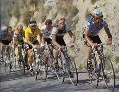 #LaVuelta '86,Lejarreta,Winen,Pino,Van Impe con 40 años,Fignon,Cabestany,Millar,camino d Sierra Nevada