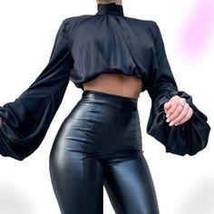 High Fashion Outfits, Mode Outfits, Look Fashion, Casual Outfits, Black Outfits, Fall Outfits, Club Outfits, 50 Fashion, Fashion Black
