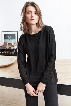 Collection Mars/Avril Les Comptoirs d'Orta/ Pull Garance #lescomptoirsdorta www.lescomptoirsdorta.com