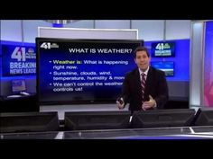 This short video is a great way for students to learn about the weather. JD Rudd is a real meteorologist who is entertaining and informative. This video can directly teach students terminology and concepts about the weather in a fun way. Weather Words, Weather Unit, Weather And Climate, Weather Report, Severe Weather, Extreme Weather, Wild Weather, Preschool Science, Science For Kids
