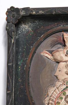 Tony Duquette Bas Relief of a Louis XVI Courtier