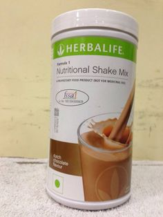 Herbalife formula 1 - 500g #-dutch chocolate flavour #nutritional #shake mix f-sh,  View more on the LINK: http://www.zeppy.io/product/gb/2/122047226054/