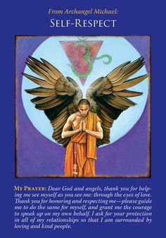 Oracle Card Self-Respect | Doreen Virtue - Official Angel Therapy Website