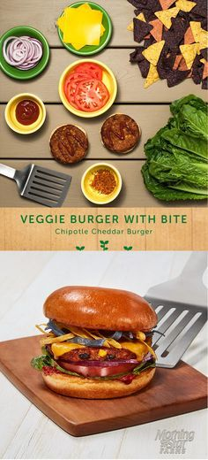 Spice up your summer bbq with this drool-worthy chipotle cheddar burger.